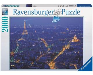 Rompecabezas Ravensburger De 2000 Piezas: Paris De Noche