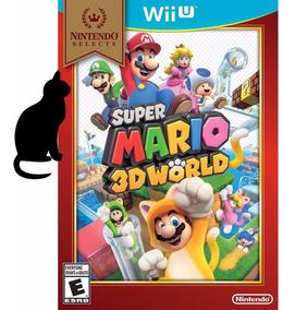Super Mario 3d World Wii U Original Lacrado
