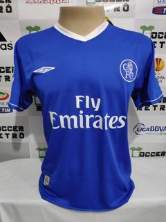 Camisa Chelsea 2003-04 Crespo 21 Premier League
