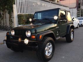 Jeep Wrangler 2.5 Se Techo Lona Std 1997