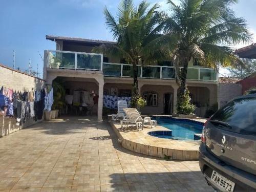 Casa Com Piscina Lado Praia E 3 Quartos Em Itanhaém/sp