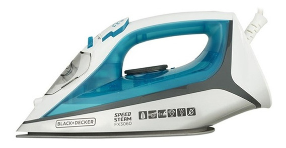 Ferro Á Vapor Ceramic Gliss Black+decker Fx3060 - 110v