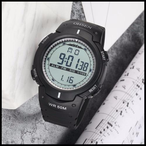 Reloj Deportivo Totalmente Sumergible Resistente Al Agua