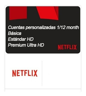 Neflix Cuentes / Personalizadas 1/2 Month Series Original