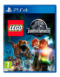 Lego Jurassic World Ps4 Fisico Sellado Nuevo Original