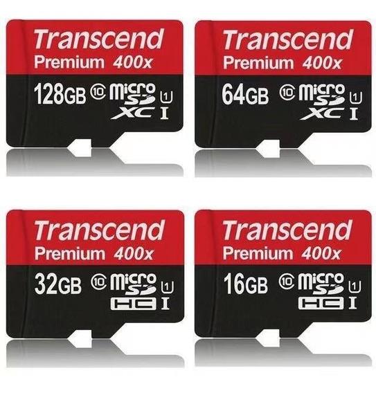 Cartão Sd Transcender Alta Velocidade Micro Cartão 32gb