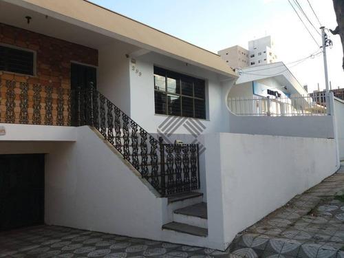 Casa Com 3 Dormitórios À Venda, 272 M² - Mangal - Sorocaba/sp - Ca7439
