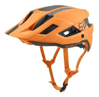Capacete Bike Fox Racing Flux Rush Orange - Oficial