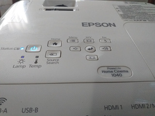 Proyector Epson Pl Home Cinema 1040