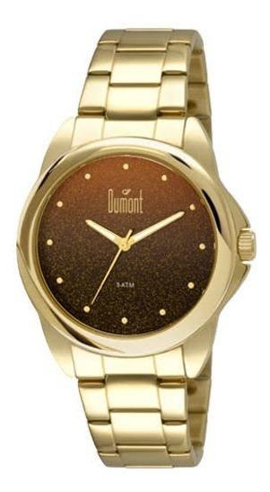 Relógio Dumont Feminino Du23lnu/4p