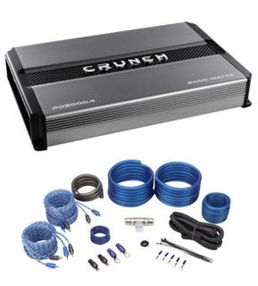 Crunch Pd2000.4 2000w 4 Canales Pro Power Car Amplificador