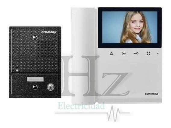 Kit Commax Portero Electrico Visor Cdv 43k Antivandalico Hz