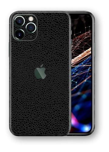 Imagem 1 de 1 de Película Skin iPhone 11 Pro Max Kingshield 3d Couro-preto