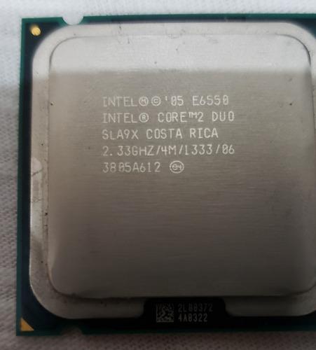 Processador Intel 775 E6550 Core 2 Duo 2.33ghz Para Desktop