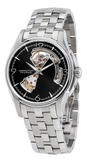 Relogio Hamilton H32565135 Jazzmaster Open Heart Automatico