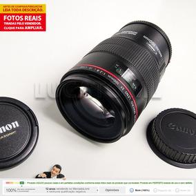 Lente Macro Canon Ef 100mm F/2.8 L Is Usm + Frete Grátis