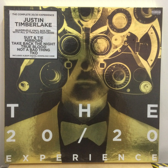 Vinilo Justin Timberlake The 20/20 Experience Box Limited