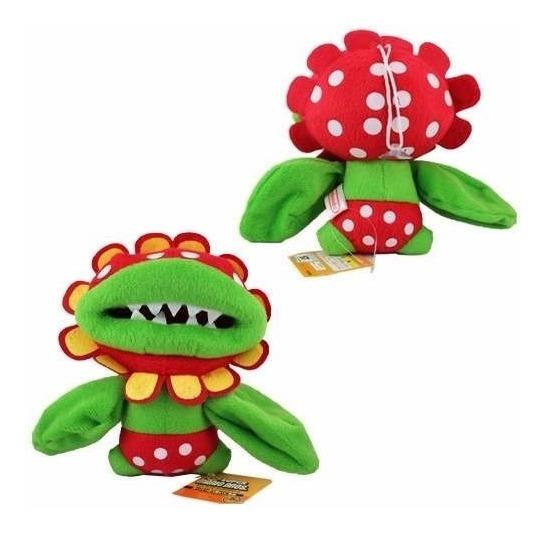 Boneco De Pelucia Mario Bros Piranha Planta Carnivora Flor