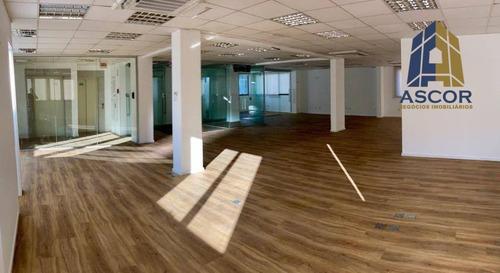 Imagem 1 de 7 de Sala Para Alugar, 207 M² Por R$ 8.900,00/mês - Centro - Florianópolis/sc - Sa0078