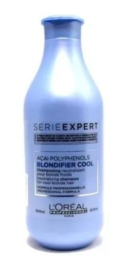 Blondifier Loreal Profesional Shampoo Cool X 300 Matizador