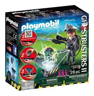 Playmobil 9348 Ghostbusters Stantz App Cazafantasmas