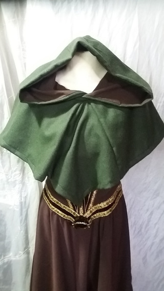 Capita Hood Medieval Capuchón - Paño De Lana