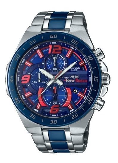 Reloj Casio Edifice Toro Rosso Efr 564tr 2a Nuevo