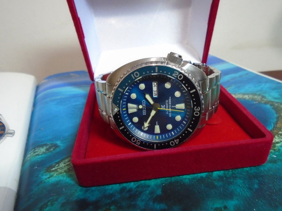 Seiko Diver 200 M Prospex Blue Lagoon 200 M Diver Japan Raro