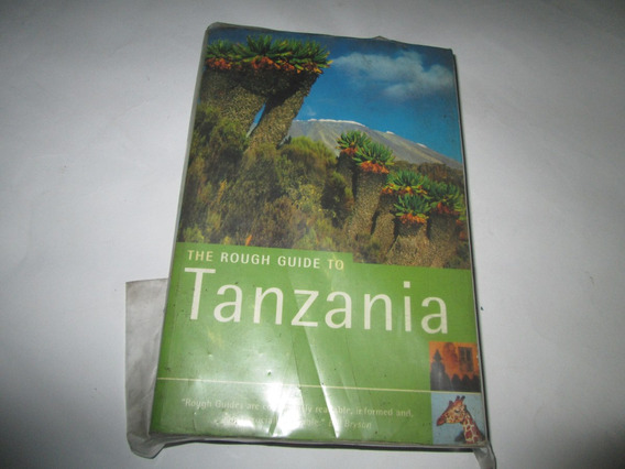Livro The Rouch Guide To Tanzania Rouch Guides R.800