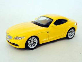 Miniatura De Carro Bmw Z4 Amarela 1:43 California Junior