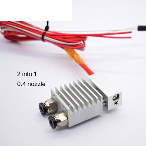 Extrusor Dual Ciclope 2 En 1 Chimera Hotend Impresora3d Dobl