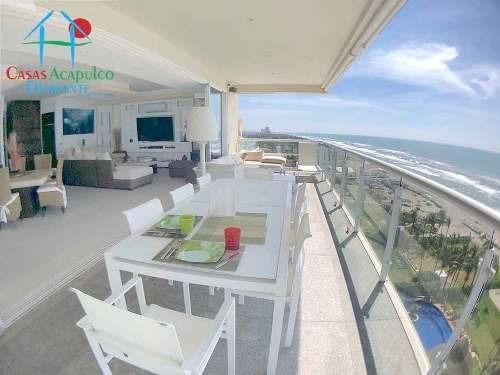Cad Ocean Front Ph 909 Dos Terrazas, De Playa, Vista Al Mar