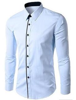 Camisa Social Slim Fit Noblemen