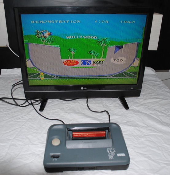 Master System 3 Iii Compact Com Controle Original