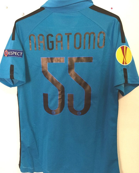 Camisa Internazionale Europa League 2015 De Jogo Autografada