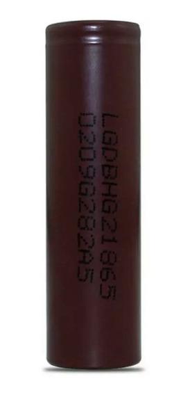 Kit Com 1x Bateria Lg Hg2 18650 3.7v 1500mah + Carregador