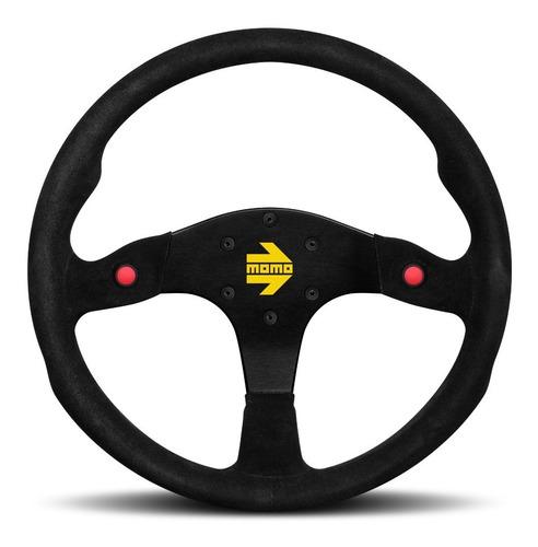 Timón Momo Mod 80 Rally Circuito Carrera Competencia Suede