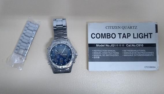 Relógio Citizen Tap Light (funcionando - Raridade!)