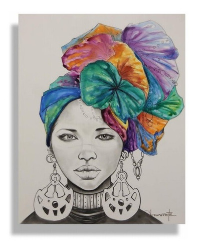 Imagen 1 de 4 de Cuadro Decorativo Zulu Këssa Muebles