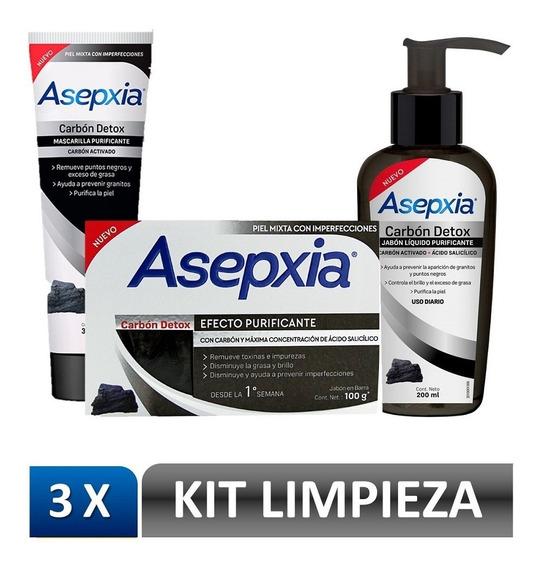 Pack 2 Limpieza Asepxia Carbón