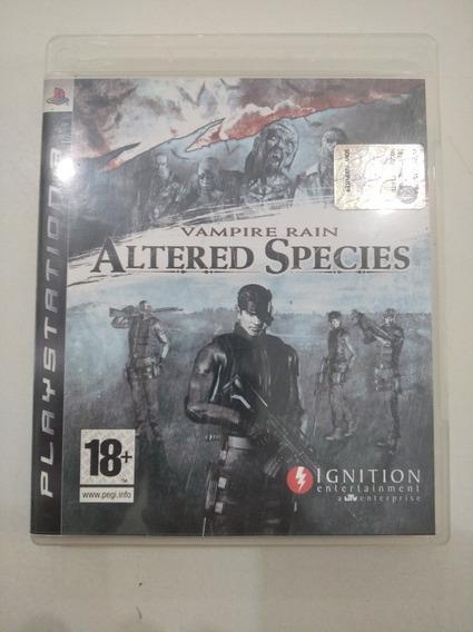 Alteres Species Dvd Playstation 3