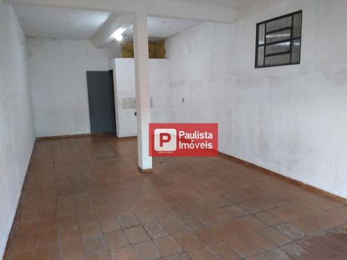 Salão Para Alugar, 40 M² Por R$ 900,00/mês - Jardim Bandeirantes - São Paulo/sp - Sl0170
