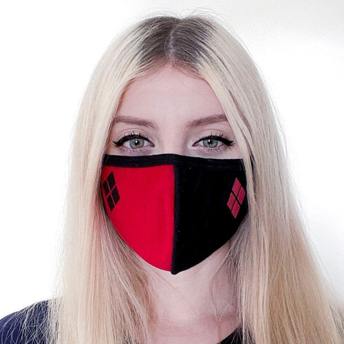 Máscara Facial Harley Quinn Clássico Piticas 3987
