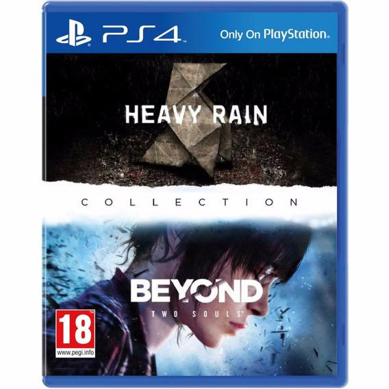 Jogo Fisico Heavy Rain E Beyond Two Souls Collection Ps4