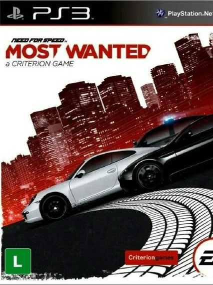 Need For Speed Most Wanted Ps3 Playstation 3 Jogo Comprar
