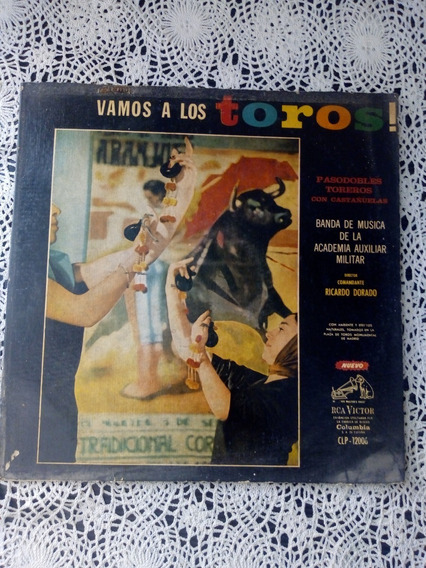 Vamos A Los Toros -pasodobles Con Castañuelas (disco Vinilo)