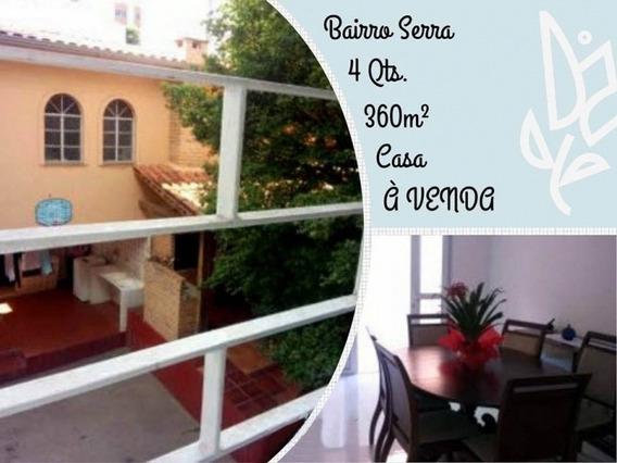 Casa | 4 Qts. | 360m² | Bairro Serra | R$1.280.000,00 - Mc0012