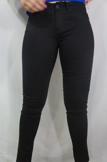 Pantalón De Gabardina Negro Para Dama C