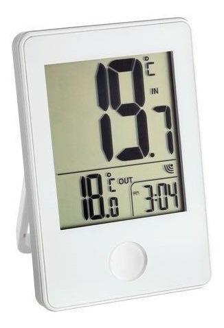 Imagem 1 de 3 de Termômetro Ambiente Digital Pop Wireless White Incoterm