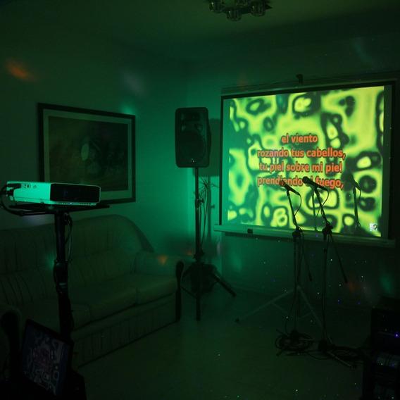 Alquiler De Karaoke Completo Sonido Proyector Envios Gratis